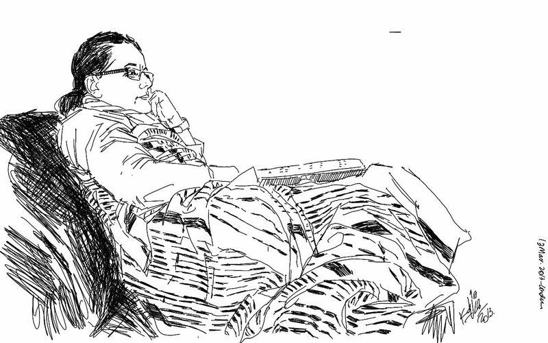 Drawing Woman Sketch Kaay