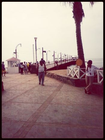 El muelle :) lovely day.