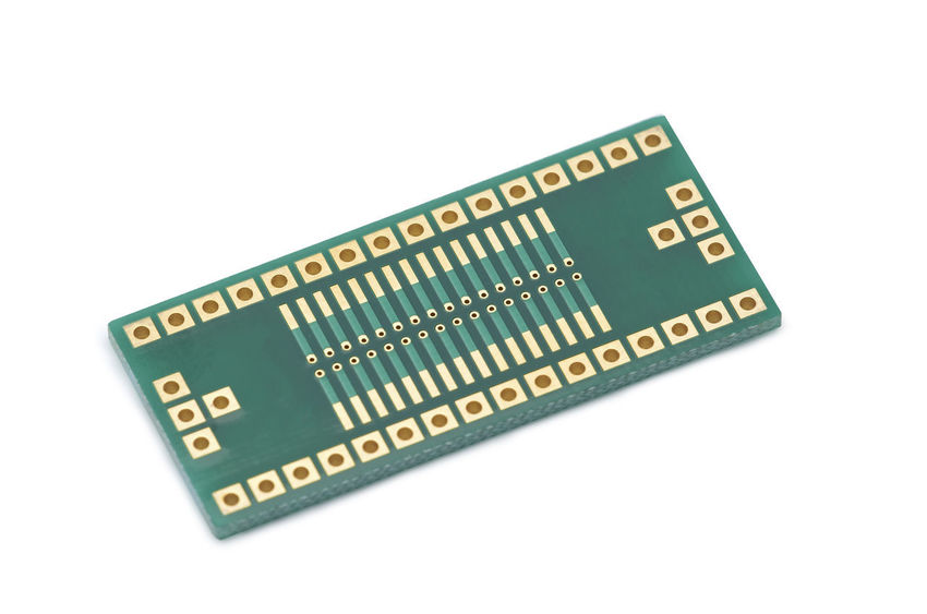 Adapter SMD, DIP on white background DIP Holes PCB Smd Adapter Chip Chips Circuit Components Computer Chip Connector Contact Laminate Pad Process Resitor Solder System Technical Wires Wiring