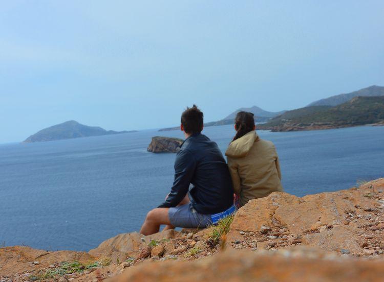 together for future Aegean Sea Deepfreeze Greece Love Sounio Together First Eyeem Photo