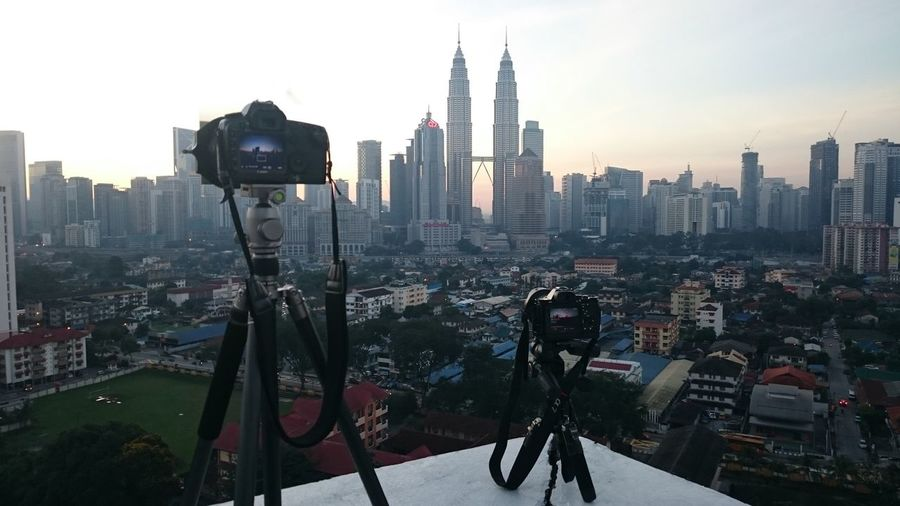 Good morning kuala lumpur Taking Photos Check This Out That's Me Hello World Enjoying Life Background Beautiful Clouds And Sky Landmark Architecture Cityscapes Building Exterior