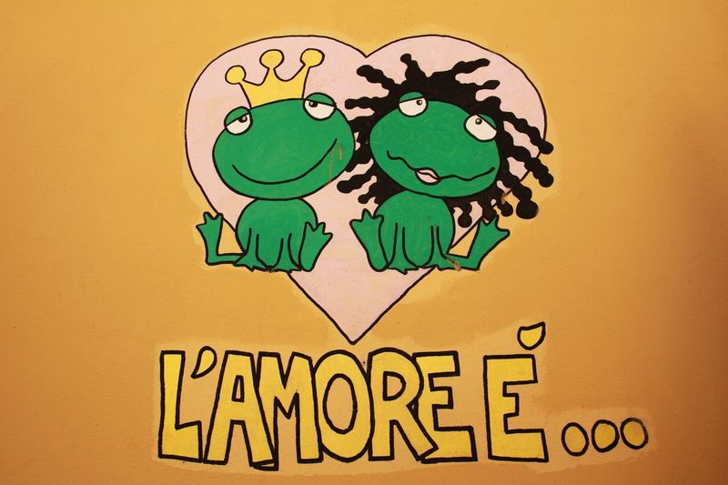 Gardasee L'amour Liebe Love L'amore Frog Amore