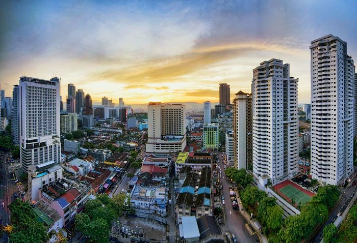 Wake up to a splendid view of sunrise over Changkat..good morning Scenic Eye4photography  Landscape_Collection Changkat Sunrise_sunsets_aroundworld EyeEm City Shots Cityscapes Kuala Lumpur EyeEm Malaysia Merged Travel Destinations Morning Sky Malaysia Scenery Morning Rituals Morning Dawn