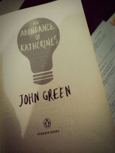 Keep laughing. Books ♥ Johngreen Anabundanceofkatherines First Eyeem Photo
