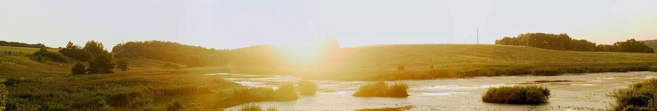 Nature Landscape Nikonphotography Russia Sundown Summer Rylsk Panorama Nikon