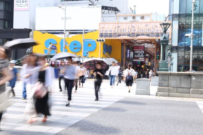 2017.07.03 People Street Photography Japan Road OSAKA Busy Life