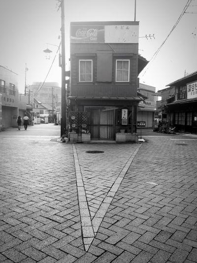 Architecture Street Triangle Monochrome Dramatic Angles Monochrome Photography