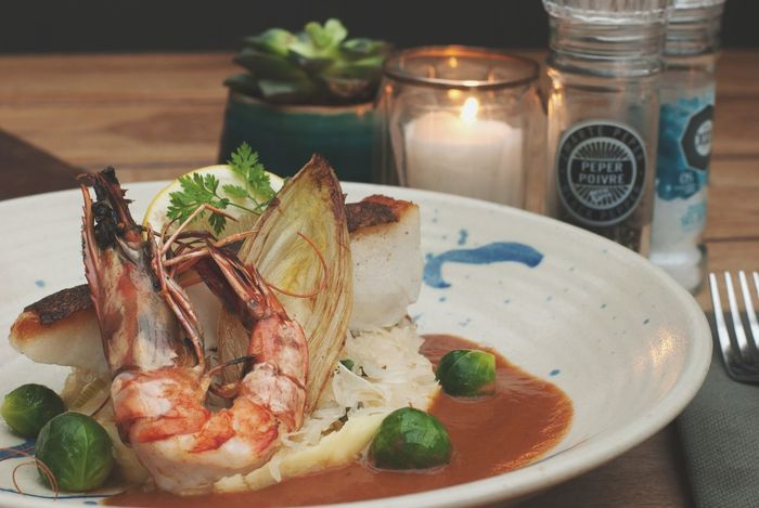 Food Seafoods Fish Dish Restaurant Schrimp Sprout Bisque Langoustine Yummy Eat Food Stories