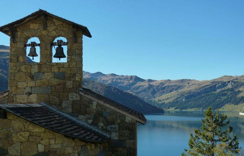 Lac de Roselend Water Mountain Lake Nature Blue Tranquility Beaufortin Savoie AlpesFrancaises Alpes