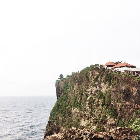 Sea Horizon Over Water Water Built Structure Tranquil Scene Scenics Architecture Clear Sky Cliff Tranquility Copy Space Building Exterior Beauty In Nature Solitude Nature Non-urban Scene Outdoors Remote Calm Day Travelling Travel Destinations Travel Photography Travel My Favourite Place
