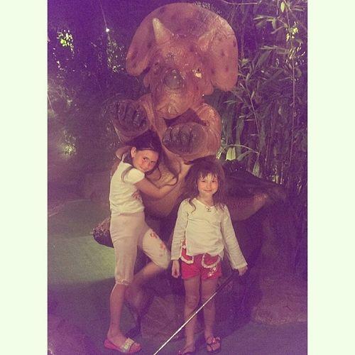 Интересный аттракцион DinoPark .  Пхукет Phuket .