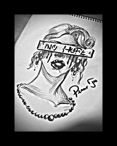 Bymyfriend No Hope Pinar Tas Art