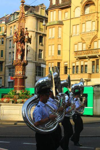 Taking Photos Traveling Basel Marktplatz EyeEm Best Shots Music People Colors Oldtown