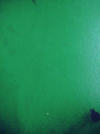Close-up Flat Surface Green Green Color Marked No People Stained Surface Surface Level