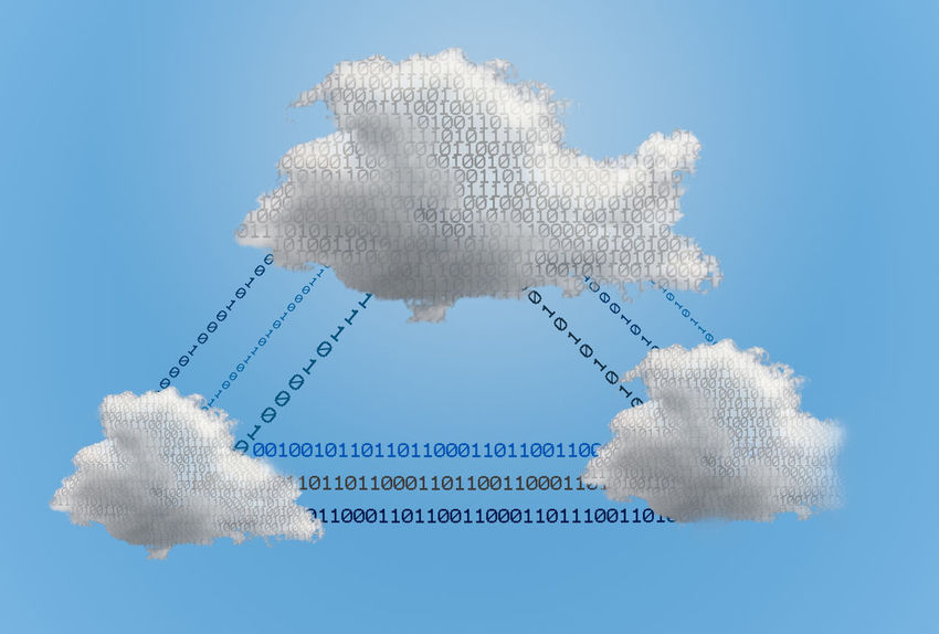 Photo illustrations of the concept of cloud computing and security of data in the network Cloud Security Cloud Computing Computing Data Data Storage Digital Internet Network Storage Technology