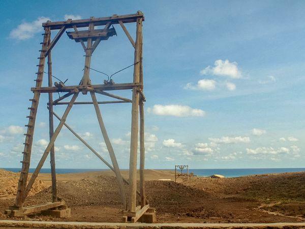 Envision The Future Transportation Saltern Cableway Salt Saltmine  Sal Capeverde Pedra De Lume