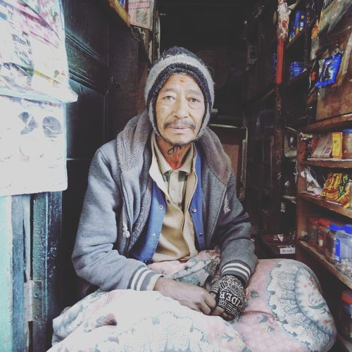 Sitting in his tiny shop Shopkeepers Bhaktapur Nepali  Shop Shopkeeper Nepal Travel Nepal Nepali People FacesOfEyeEm Faces Of Nepal Street Photography Streetphotography The Street Photographer - 2017 EyeEm Awards The Week On EyeEm Portrait