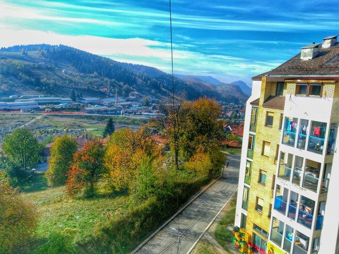 Nova Varos Serbia Zlatar Blue Sky Automne🍁🍂🍃