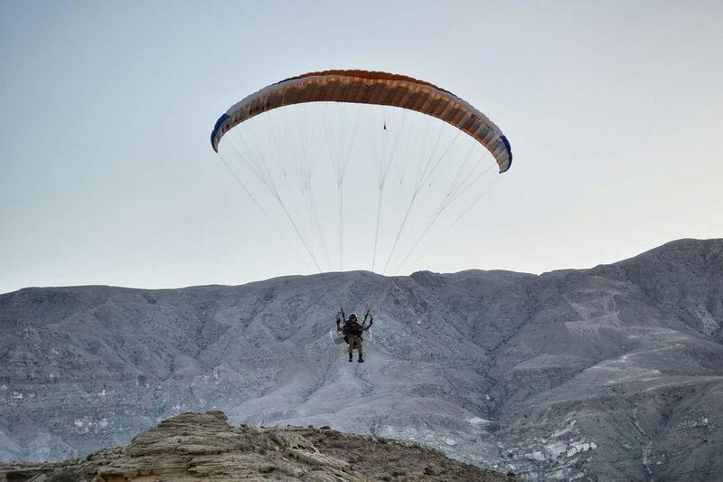 Paragliding Oman Extreme Sports