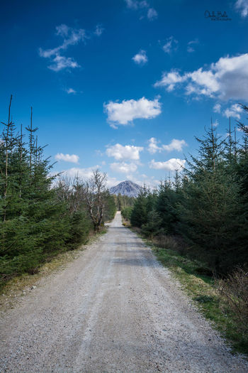 Leading to mount errigal in donegal, Ireland