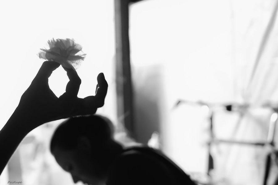 2 Women Bicycle Blackandwhite Close-up Focus On Foreground Headshot Holding Human Finger Leipzig Nightphotography Person Window