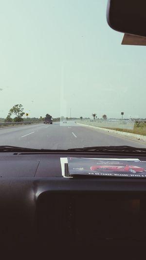 On Way To Peshawar Enjoying Driving Having Fun