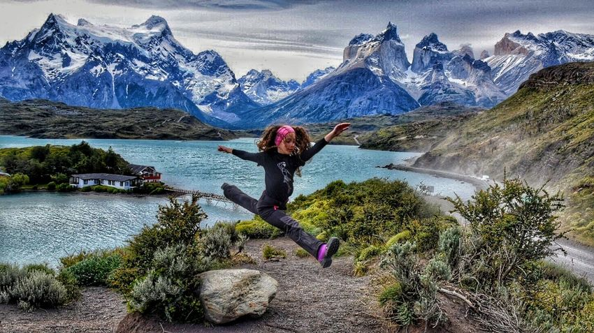 Alternative Fitness Peace And Quiet Peace Girl Power Enjoying Life Simanovic Hello World Popular Popular Photo Popular Photos Happiness Happy Hanging Out Fitness Fitness Training Ballerina Ballett Dance Dancer Neve Montains    Chile TorresDelPaine