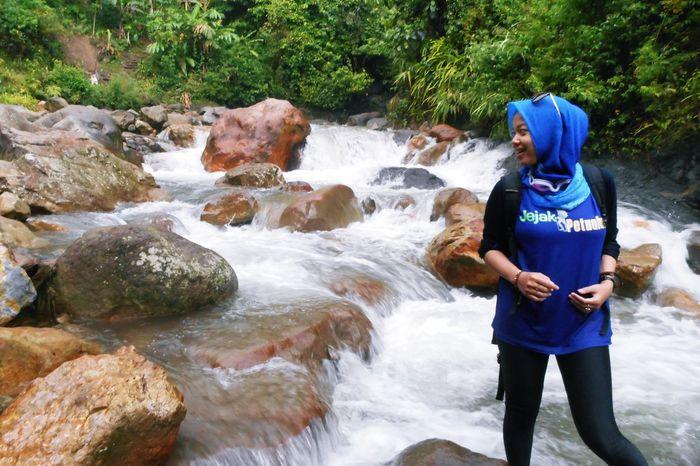 Beauty In Nature Bogor Fun Happy INDONESIA Jalanjalan Jejakpetualang Kurangpiknik Leisure Activity Modeling Nature Nikon Non-urban Scene Tourism Water Waterfall