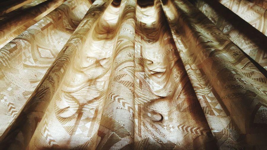 แสงและเงา Full Frame Backgrounds Textile No People Indoors  Close-up Day