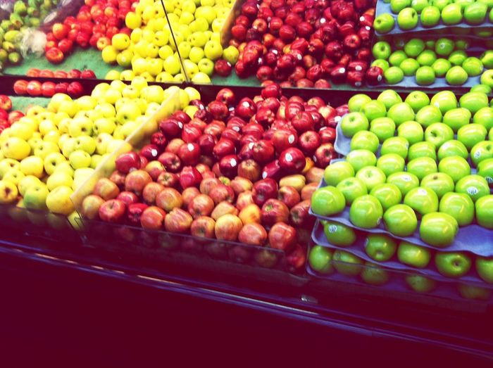 Apples In Market