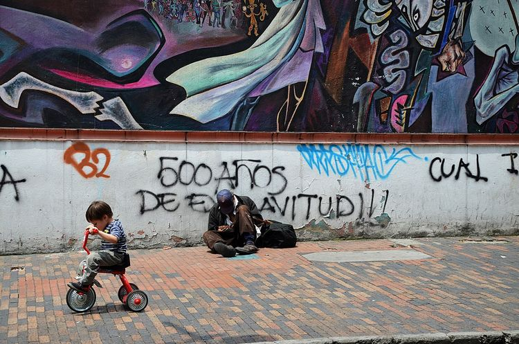 Bogotá Child Colors Life Life And Death Life On Street Poverty Street Photo Street Photography Streetphotography