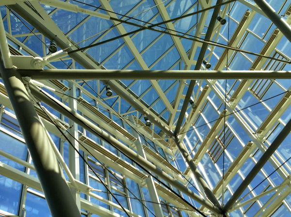 Architecture Built Structure Day Low Angle View Metal No People Sky