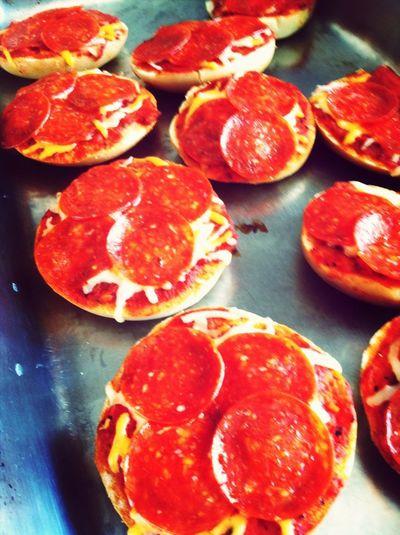 Bagel Pizza Nummnumm