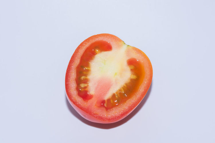 Tomato white background Blood Orange Close-up Cross Section Day Food Food And Drink Freshness Fruit Halved Healthy Eating No People Red SLICE Studio Shot White Background