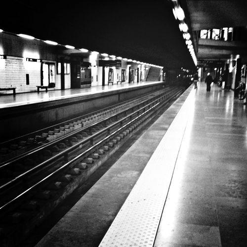 Black And White Subway Station Lisbon EyeEm Best Shots