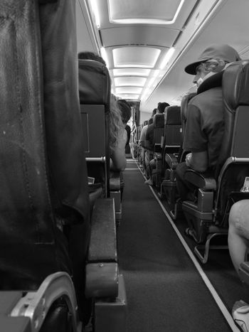 Travel Transportation Indoors  Journey Public Transportation Passenger Vehicle Seat Commuter One Person Adults Only People Illuminated Only Men One Man Only Adult Day Train Interior Airplaine EyeEmBestPics Eyeem Philippines Welcome To Black