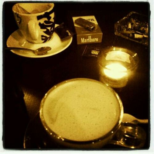 Coffee And Cigarettes Cafe Latte Cafe Time