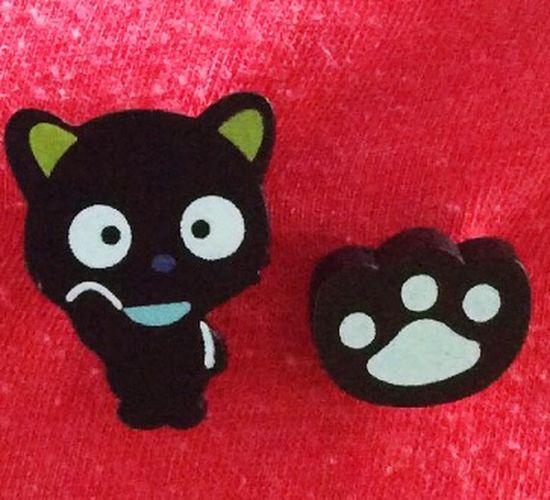 黑爪和一只黑色的名叫小乐的猫。