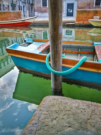 Venice Veneto Italy Travel Travel Photography Traveling Dream Destinations Mobile Photography Backlight Water Canals Rowing Boats Boat Poles Architecture Historical Buildings Churches Reflections And Shadows Fishes