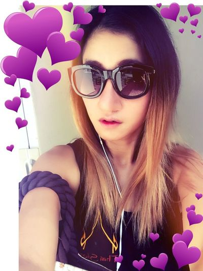 I Love Who I Am ♡ Sunglasses I'm Asian Girl ♥