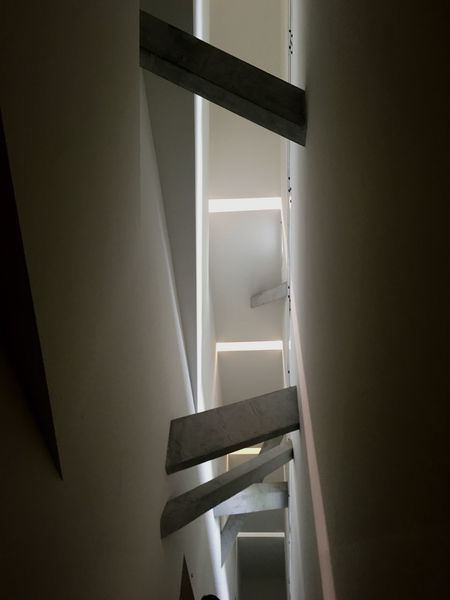 Capture Berlin Architecture Staircase Steps And Staircases Indoors  Daniellibeskind Jewish Museum, Berlin