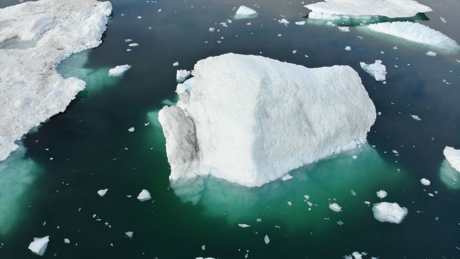 I'll let the picture speak for itself. Drone  Drone Shot Icebergs Ilulissat Ilulissat Icefjord The Real Greenland This Is Greenland Cold Temperature Drone Photography Dronephotography Droneshot Iceberg Iceberg - Ice Formation Mavic Pro Nature Outdoors Water