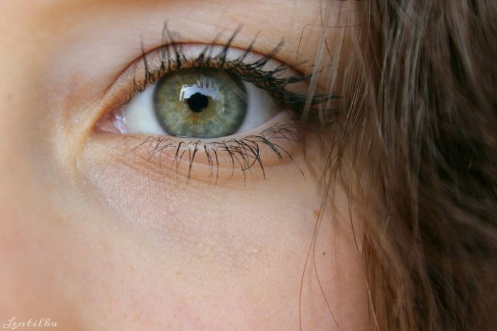 Human Eye Human Body Part Eyelash Close-up One Person Looking At Camera Eyesight Iris - Eye Eyeball Women Real People Portrait One Woman Only Eyebrow Human Skin Canonphotography Green Eye Lentilka