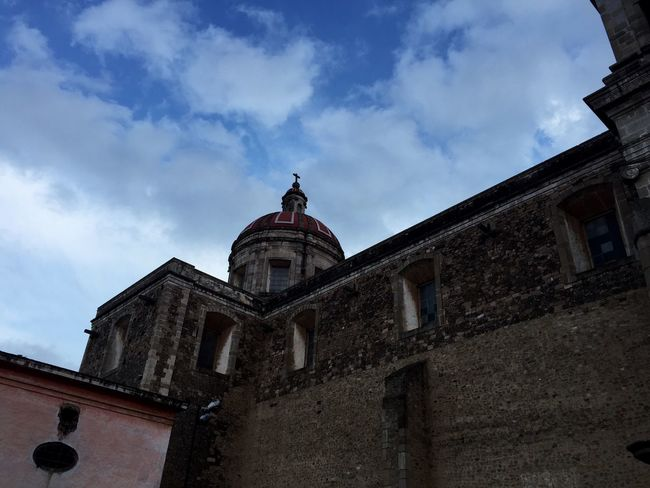 Catedral de Tulancingo Architecture Sky And Clouds