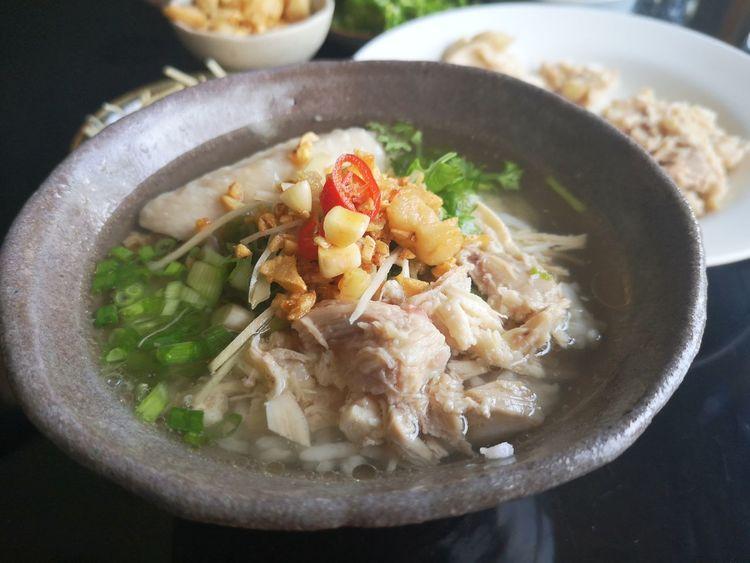 Soup Bowl Close-up