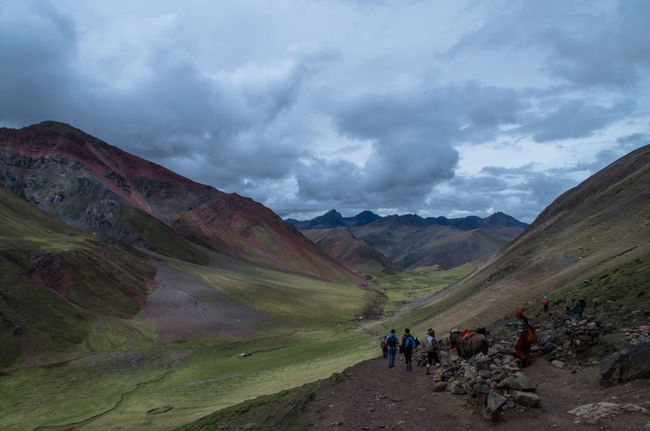 Amazing View Hiking Peru Travel Amazing Beauty In Nature Cloud - Sky Colorful Environment Go Higher Landscape Mountain Nature Outdoors Scenics - Nature Sky Tranquil Scene Travel Travel Destinations