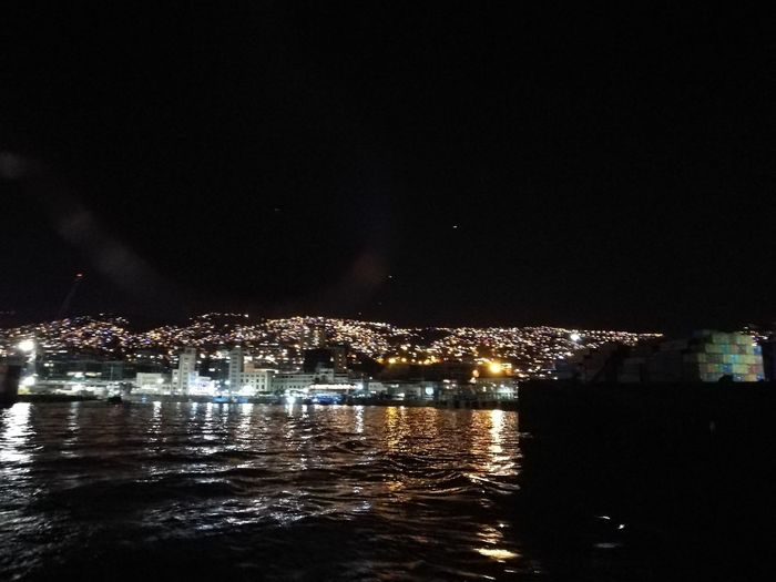 VALPARAÍSO DE MI AMOR!!! Night Reflection Water Arts Culture And Entertainment Sky Illuminated Celebration Sea Cityscape Vacations City Outdoors No People Beauty In Nature Firework Display