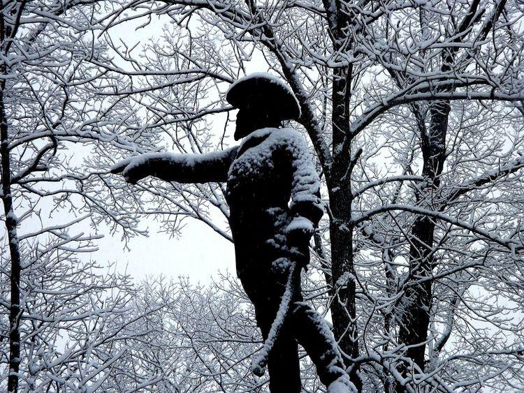 Gettysburg,pa Pennsylvania Beauty Civil War History Snow Winter Wonderland Military History