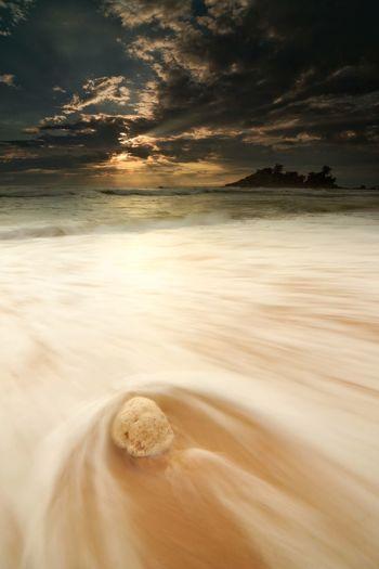 Sunrise Island Terengganu Malaysia Bali BoraBora Wave Ombak Seashore Sea And Sky Sunrays Seaview White Background Coral White Stone Water Wave Sand Dune Sea Desert Sunset Galaxy Beach Low Tide Sand Tide Seascape Coast Horizon Over Water