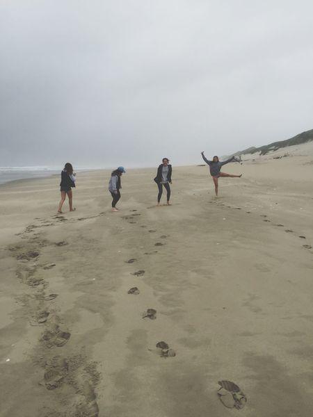 Sand dunes inspire spontaneity